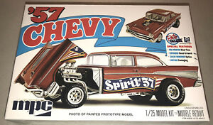 MPC-1957-Chevy-Bel-Air-Spirit-of-57-1-25-scale-model-car-kit-new-904