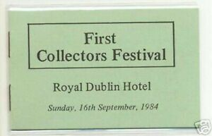 1984-DX48-1ST-COLLECTORS-DUBLIN-FAIR-EXHIBITION-BOOKLET-SCARCE