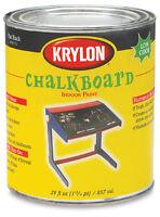 Krylon Black Chalkboard Paint 1-Quart Can QUART
