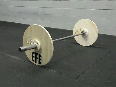 Olympic / Crossfit -Technique / Training Weight Lifting Wood Plates By EFE