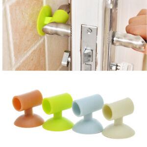 Adhesive-Wall-Protectors-Door-Handle-Crash-Pad-Bumper-Guards-Stopper-Rubber-2018