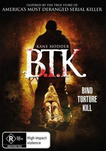 1 of 1 - B.T.K. (DVD, 2009)*R4*R Rated*Horror*Inspired by The B.T.K Killer