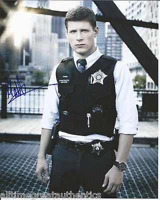 Candid Actor Matt Lauria Hand Signed Authentic 'the Chicago Code' 8x10 Photo W/coa Television