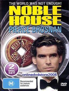 NOBLE-HOUSE-Pierce-BROSNAN-Deborah-RAFFIN-TV-Mini-Series-2-DVD-SET-NEW-SEALED