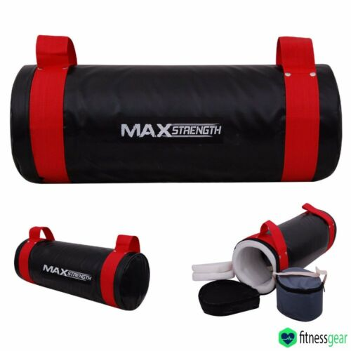 Boxing Power Bag Sand Bag Cross Fit MMA Training Exercise Weight Lifting Bag Red