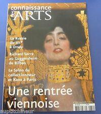 Connaissance des arts 630 2005 Serra Klimt Messerschmidt De Kooning Girodet ...
