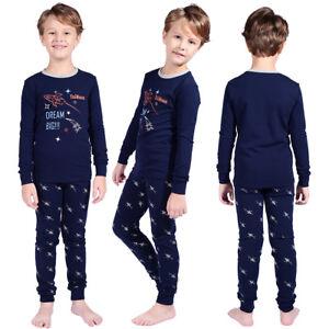 fbbf51843ce7 100% High Quality! Kids Boys Children Sleepwear Pj s Nightwear ...