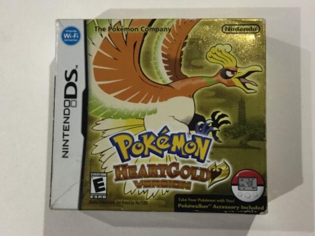 Pokemon HeartGold Version Cardboard BOX ONLY -No game or Pokewalker