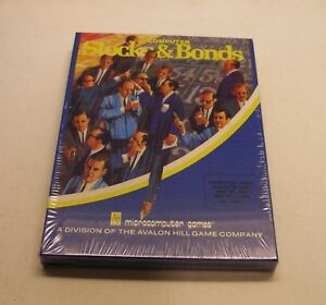 Stocks-amp-Bonds-by-Avalon-Hill-for-IBM-PC-and-IBM-PCjr-NEW-in-the-Big-Box