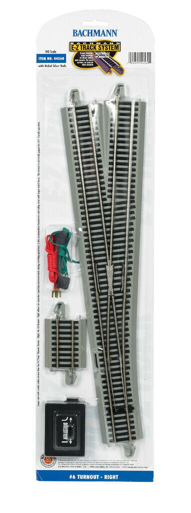 Bachmann 44560 Right Hand Remote Turnout (HO Scale) non DCC