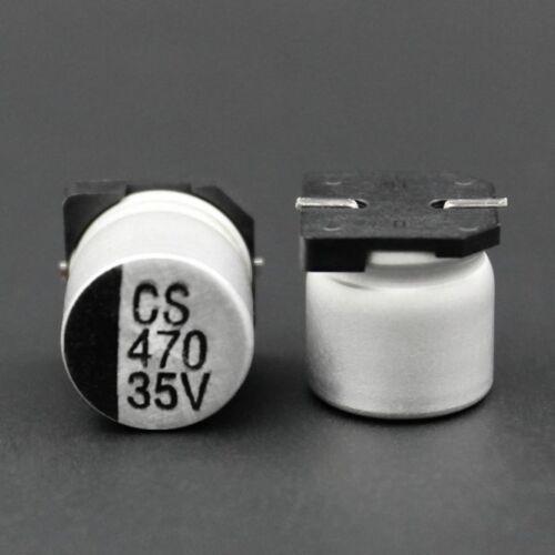 Electrolytic Capacitors Full Range 0.47uF to 1000uF  SMD//SMT 6.3V-400V Aluminum