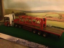 Corgi Heavy Haulage Modern Truck Red Crane Jib Top Load Only 1/50
