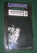 GW WARHAMMER 40K Edición Limitada Ltd Ed espacio marino capitán gamesday 2008