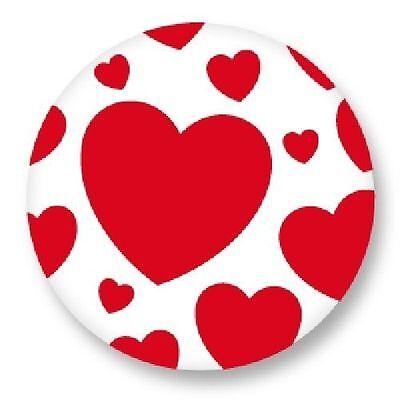 Pin Button Badge Ø38mm Symbole Signe Je t/'aime I Love You Amour Love JTM
