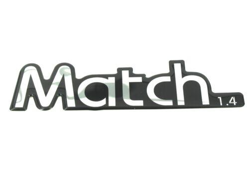Genuine New VOLKSWAGEN MATCH 1.4 BADGE For Polo Mk2 TDi FSi 2001-2009 Petrol