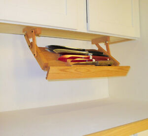 Under Cabinet Pull Down Knife Rack by Ultimate Kitchen Storage ...