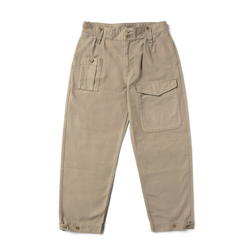 Men's Vintage Workwear Inspired Clothing   Red Tornado Repro British Army Pants Vintage Mens Military Trousers High Rise $84.99 AT vintagedancer.com