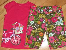 Crazy 8 Flower Market bicycle top & floral bermuda shorts 10