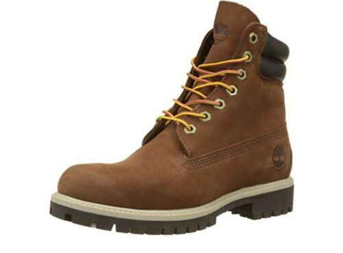 Timberland Size Double 9 6 Mens Boots 5 Rust Pollici Premium Cuff Uk 1dgn84qw