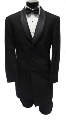 40R NEW 100/% Wool Mens Black Nuvo 35 After Six Unique Shawl w// Pants 40 Reg Tux