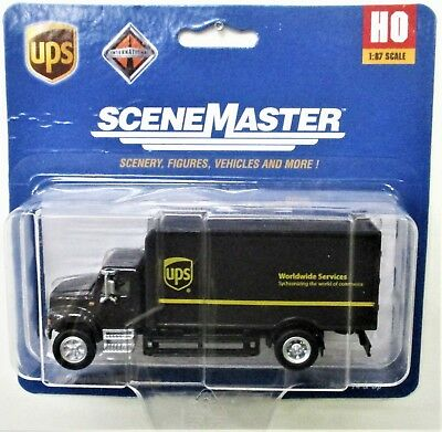 Walthers #949-14001 New Shield Logo HO Scale 1//87 UPS Package Car