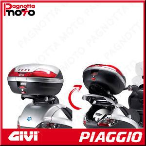 ATTACCO POSTERIORE RIBALTABILE X BAULETTO MONOKEY PIAGGIO MP3 BUSINESS 300 12>14
