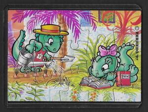 Jouet kinder puzzle 2D Dapsy Dino Family 659290 Allemagne 1997 avec étui +BPZ gO6SsD0O-08023315-327884210