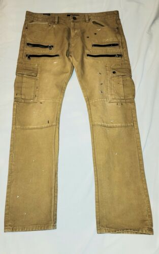 Cult of Individuality GREASER CARGO jeans 38X34