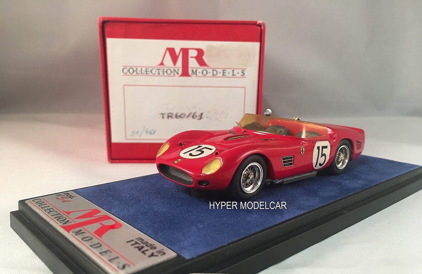 MR Models 1 43 Ferrari 250 Tr 60 61  15 Sebring 1961 2nd