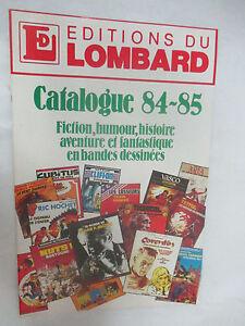 Catalogue-Le-Lombard-1984-1985