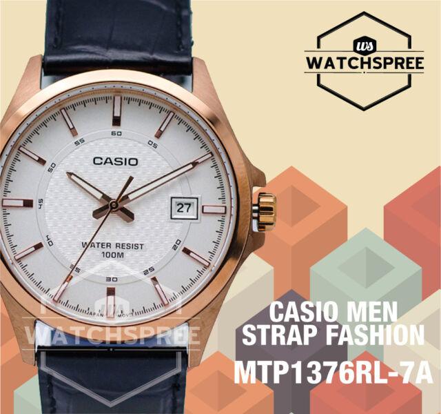 Casio Men's Strap Analog Watch MTP1376RL-7A