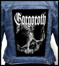 GORGOROTH  --- Giant Backpatch Back Patch / Marduk God Seed Ragnarok Nattefrost