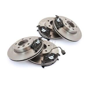 Discos-de-Freno-Pastillas-Delantero-Trasero-para-Audi-A4-Avant-8D5-B5-1-8-1-9