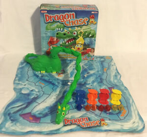 Dragon-Chase-Board-Game-2012-Ideal-Working