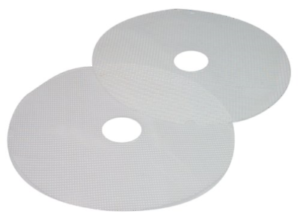 Nesco MS-2-6 Clean-a-Screen for Dehydrators FD-1010//FD-1018P//FD-1020 Large Set