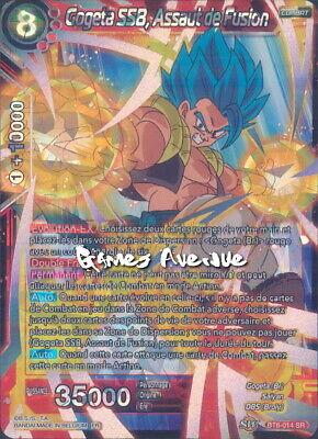 BT6-014 SR GOGETA SSB DRAGON BALL SUPER CARD GAME FR Assaut de fusion