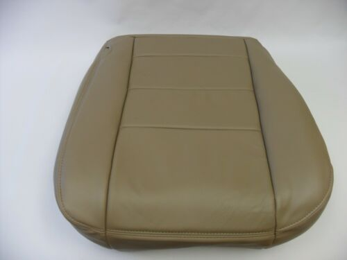 2002 03 04 05 06 07 Ford F250 F350 Lariat Driver Bottom Vinyl Seat Cover TAN