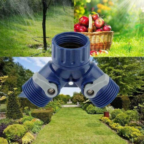 Gartenwasserhahn Splitter Adapter Schnellgewinde Schlauchanschluss Adapter R7D2