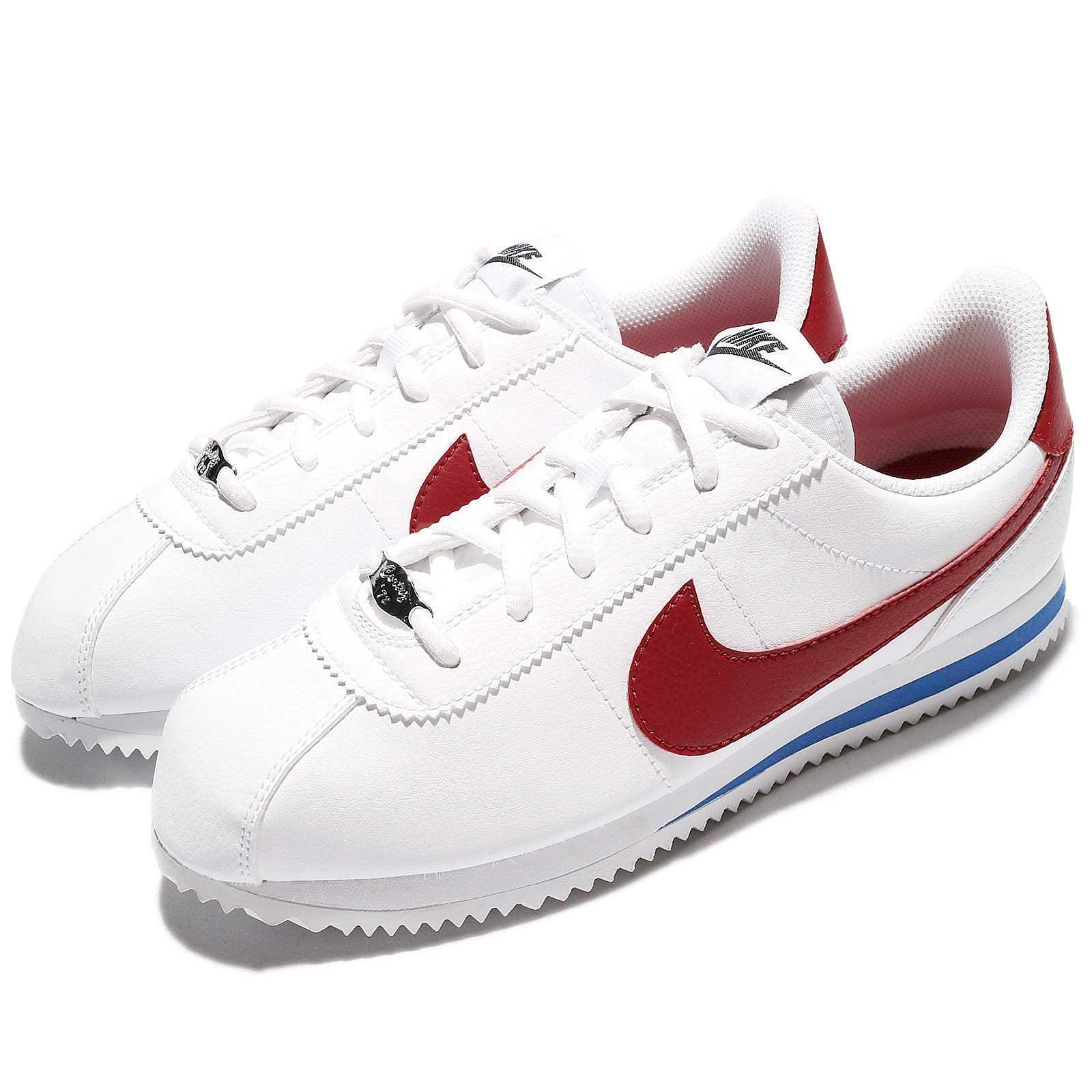 Nike Cortez Basic SL GS Forrest Gump OG Varsity Red Women Kid shoes 904764-103