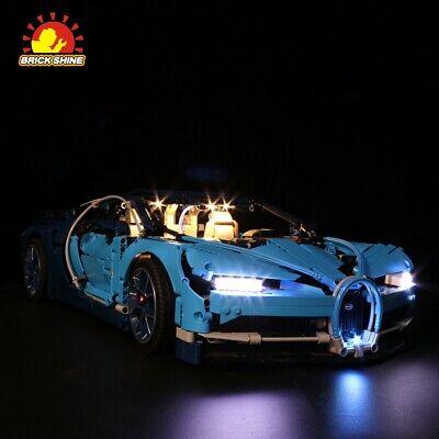 Extra large Sydney Stock Display case for  LEGO Bugatti Chiron 42083 DK
