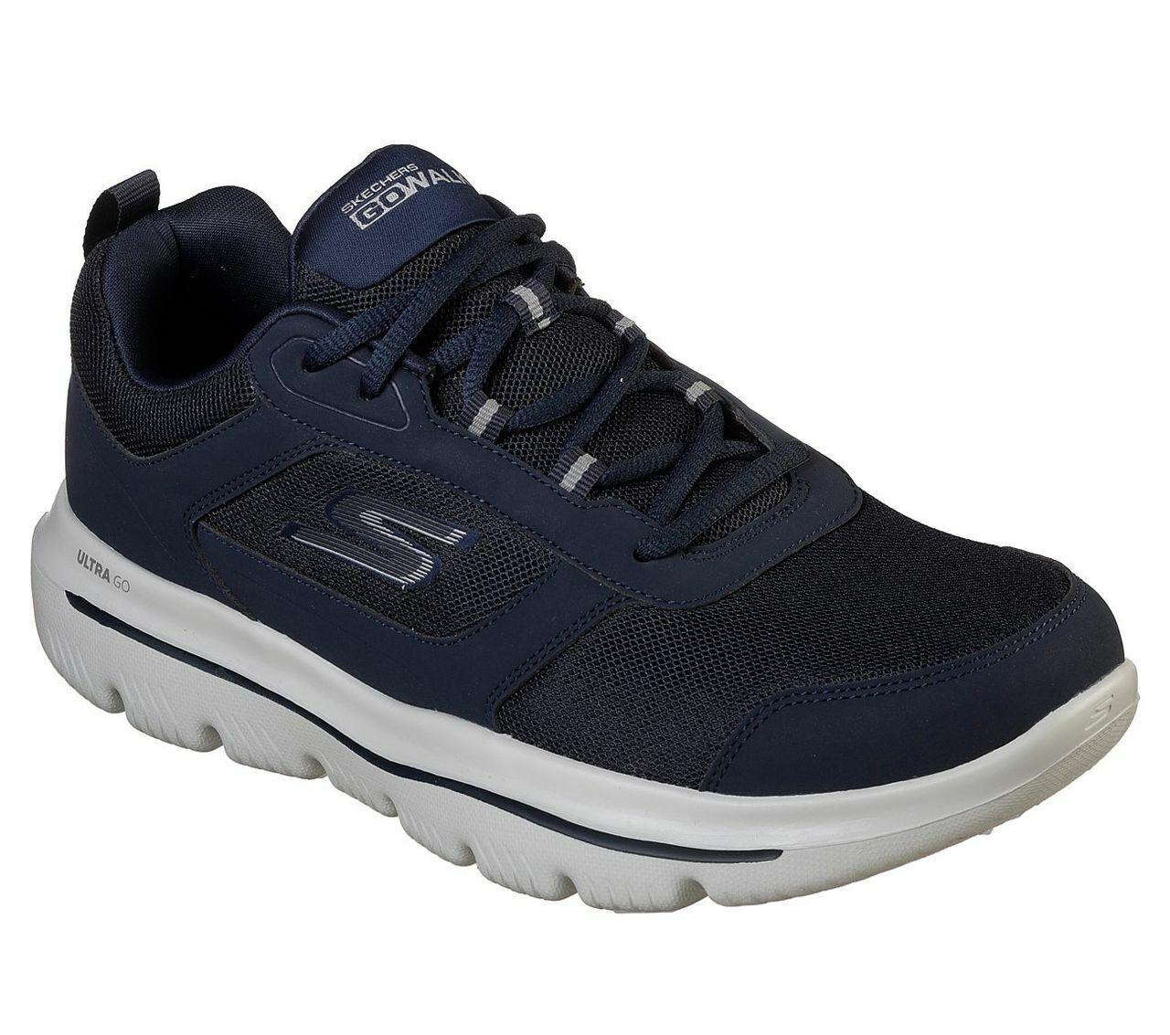Skechers Go Walk Mens GO WALK EVOLUTION ULTRA ENHANCE Turnschuhe Herren Schuh Blau