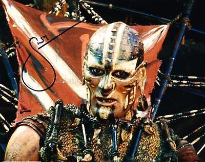 SHANE RANGI as Harad Leader - Lord Of The Rings GENUINE AUTOGRAPH UACC (R1203)