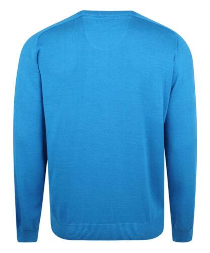 Farah New Men/'s Regular Fit Sweatshirts Cotton Crew Neck Jumper Sweater Top