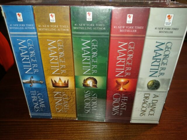 Song of Ice and Fire Ser.: A Game of Thrones Set : A Game of Thrones, a Clash o…
