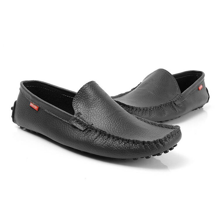 Fulinken New Softy Cow Leather Loafer Slip-on Driving mens shoes moccasin