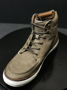 Call-It-Spring-PU-Upper-Taupe-Men-039-s-High-Top-Sneakers-Size-US-11-M-EUR-44-UK-10