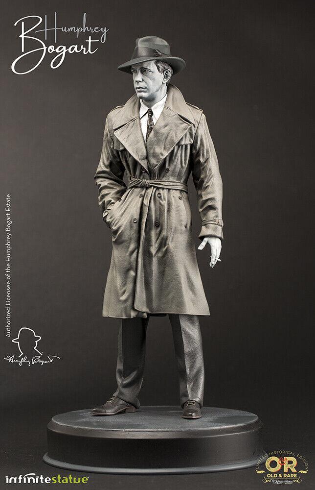 Humphrey Bogart alt & rare  Statue INFINITE (66460) Précomhommede  qualité authentique