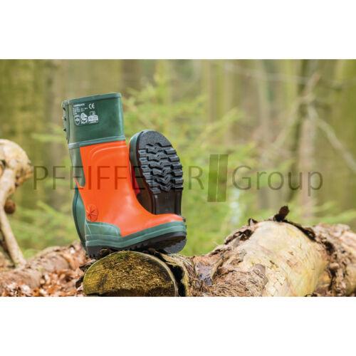 Protección de corte-botas de goma tamaño 37//38//39//40//41//42//43//44//45//46//47 forststiefel