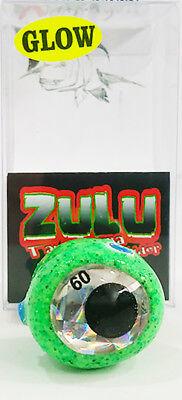 X-Paragon Zulu Tai Kabura Slider 100/% Handmade 60gr Color Green