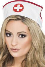Krankenschwester Haube Deluxe NEU - Karneval Fasching Hut Mütze Kopfbedeckung